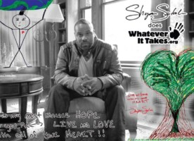 Shyan Selah 21st Century Leader Artwork for the Whatever It Takes Campaign