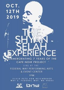 The Shyan Selah Experience Flyer