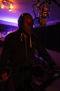 Shyan Selah in Studio
