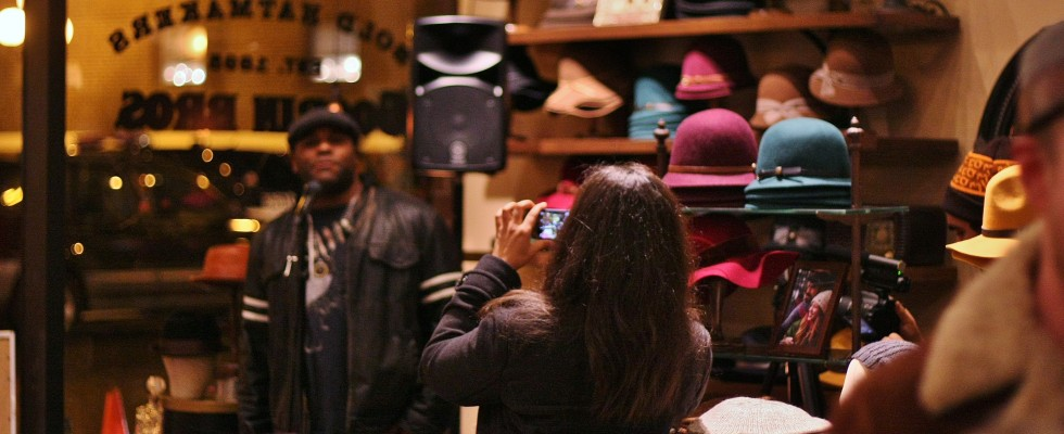 Shyan Selah Interview @Goorin Bros. Pike Place Market