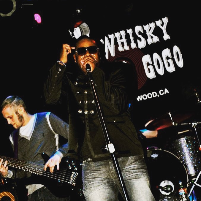 Shyan Selah Performing Live at the Whisky A Go Go with the Republic of Sound.