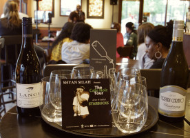 Starbucks Evenings Pairs Wine with Shyan Selah