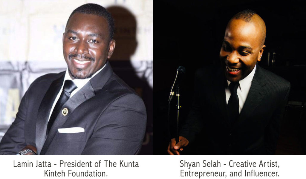 Lamin Jatta and Shyan Selah joining forces to develop Kunta Kinteh for the Big Screen.